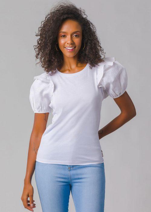 T-shirt Essential Babado - Blank Basics